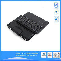 apple ipad mini keyboard - Bluetooth Wireless Keyboard Hot sale Leather Case For iPad AIR AIR2 Tablet PC With ABS Keyboard