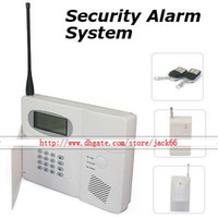 Wholesale Home Security Inteligent Auto dialing Wireless Alarm System