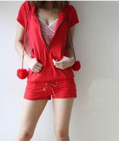 Wholesale 2011 red Womens Jumpsuit clothing ladies trouser Romper pants free size aa12