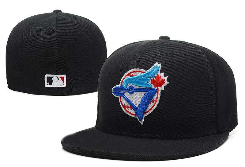 MLB Toronto Blue Jays Baseball Cap avant Logo Alternate Fitted Hat évacue la tra