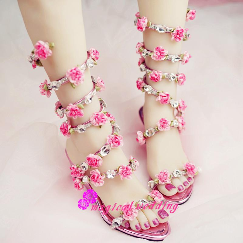 Gladiator Flats Wedding Sandals Shoes