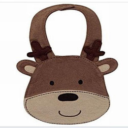 Wholesale lovely Bear Baby Bibs sizes CMx28CM Materials towelling Cotton EI110512007
