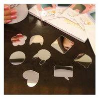 Wholesale Fashion Cute Cartoon Mirror Sticker for Cell Phone Notebook Diary Book Random Send from Micar