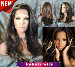 Wholesale SUNNY Celebrity Hairstyle quot quot Sexy Wave Heat Friendly Synthetic Lace Front Wigs CHS117