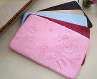 Wholesale 3 Layers Struction Comfortable Hello Kitty Memory Foam Slip Proof Home Carpet Car Door Floor Mat SBR Bottom