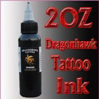 Wholesale 10 Tattoo Supplies DragonHawk Tattoo Inks sets Black OZ arrive within days SL048