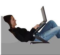 Wholesale Adjusting laptop desk Computer PC Laptop Desk Notebook Stand Bed Tray Table color black