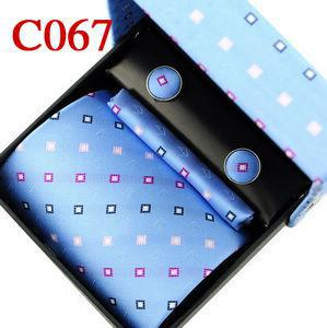 Wholesale Good sale Men's necktie today best Korean Silk elegant pattern with origianl package 4pcs