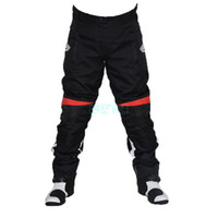 Wholesale The new style Motorcycle cycling pants riding pants Slim racing pants have protection off road pants Drop resistance pants warm k