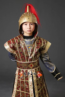 armor pictures - Chinese Children s costume Tang Lan Ling Wang Qin and Han Three generals serving generals armor armor costume costume Han Chinese clothing