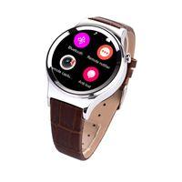 anti dialer - New Bluetooth Smart Watch Phone quot HQ HD IPS Circular Screen smartwatch SIM Pedometer Dialer Notifier Anti lost Leather strap