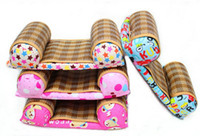 Wholesale The New Brang Baby Summer Mat Pillow Cotton Infant Pillows Anti Migraine Baby Head Shape With At Pillow