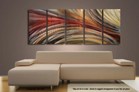 Wholesale Metal Modern Abstract Art Oil Painting art Sculpture Decor original art