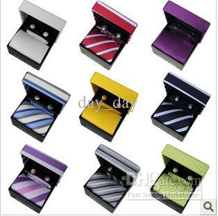 Wholesale New Men's necktie today best Korean Silk stripe pattern with origianl package 20pcs