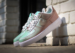 online shopping AAA quality Air Force one Running Shoes For Women Men original Chameleon skate Sneakers Breathable Ourdoor Sports Shoes Eur