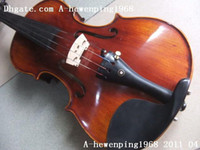 Wholesale New arrival rare Middle Grade Flamed violin with antique case
