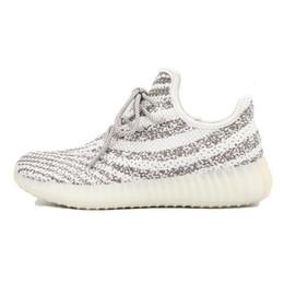 Wholesale 2016 temporada calidad kanyewest x impulso arroz blanco gris AQ3661 Sport zapatillas para hombre Las mujeres de corte bajo tamaño de los zapatos US7 ocasional