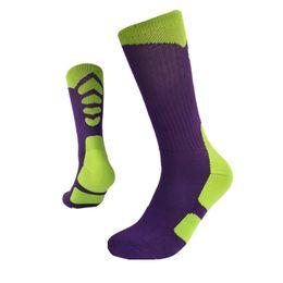 Wholesale Thicken Towel Outdoor Men s Athletic Socks Fashion Sport Professional Basketball Elite Socks COLOR