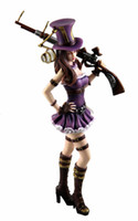 action game online - LOL online game Action Figures heroes Union City policewoman Caitlyn model decoration toys size cm