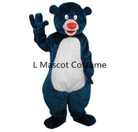 bear africa - North Africa Baloo bear mascot costume Teddy bear mascot take adult size