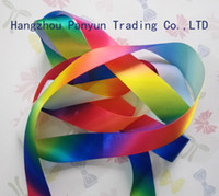 Wholesale Hight quality printed Single Face satin ribbon NO heated transfer ribbon export ribbon mm mm mm mm mm