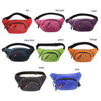 Wholesale Unisex Outside Sports Running Multifunctional Fanny Pack Casual Waist Bag Phone Belt Purse Coin Bag Eight Colors