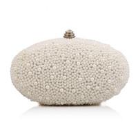 Wholesale 2016 ivory pearl bag women s handbag banquet evening bag day clutch small handbag bride and bridesmaids party bag