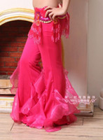 bell bottom dance pants - Belly dance trousers new bell bottoms dance clothing woman pants colors