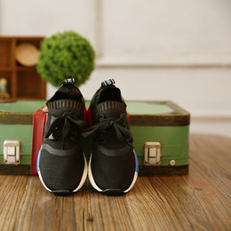 online shopping Hot Sale Children Shoes New Arrival NMD Sneaker Kids Athletic Shoes Air Permeable Casual Sneakers