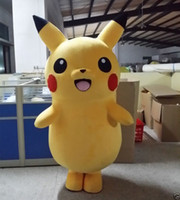 advertising mascots - Hot selling Pikachu Adult Mascot Costume fancy dress for advertising custom size