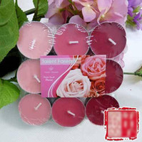 Wholesale Da Lunte natural aroma candle aluminum cup wax tea candle shaped candle taste from Micar