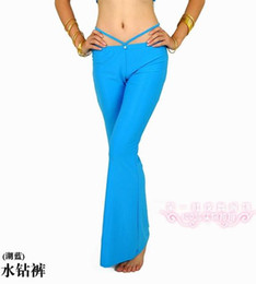 Wholesale Belly dance pants diamond pants dance clothing dance trousers