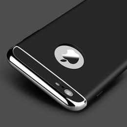 Wholesale La alta calidad de lujo ultra finos a prueba de golpes caso de la cubierta del teléfono de la armadura para el iPhone s SE s más la caja de