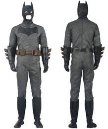 Wholesale 2016 Dawn of Justice Superman Cosplay Costume Adult Batman v Superman Halloween Superman Costume Deluxe Outfit Suit Superhero Costume Custom