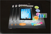 Wholesale 10pcs clear screen protector for ipad LCD Screen Protector for iPad