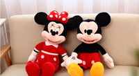 Wholesale Red lovely Mickey Mouse with pp cotton