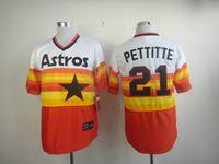 Wholesale Explosion models Houston Astros Baseball Jerseys Embroidery Logos size M XXXL