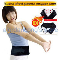 Wholesale Wecan far infrared spontaneous heating anion waist support health product