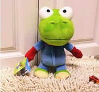 Wholesale Cute Pororo Green Dragon Plush Toys Stuffed Animals Dinosaur Crong Soft Dolls Kids Gift CM