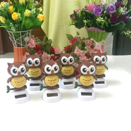 Wholesale Best Price Pieces Per Swing Under Full Light No Battery Novelty Toys And Gifts Solar Powered Dancing Owl