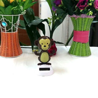 Cheap Retail Pvc Package Swing Under Full Light No Battery Novelty Gifts Home Decoration Happy Dancing Solar Powered Monkey