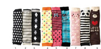Wholesale boy girl Leg Warmers Socks Kids Arm Warmer Stockings Baby Legging Knee Pads children elasticity warm
