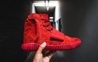 Kanye West 750 Boost Red October Men Shoes Boots YZY Sport S...