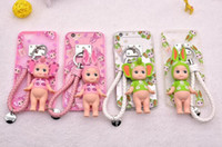 angels outings - New Style Iphone S inches cartoon printed mobile cases Iphone plush fringe cubic angel baby doll outing shell mobile cases