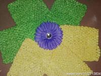 Wholesale pettiskirt Crochet tube tutu top wide crochet headband size inch with inch daisy flower50pc