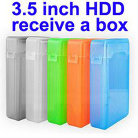 "Cheap 5pcs lot hot sale new 5x 3.5"" IDE SATA HDD Hard Drive Disk Box Case Storage"