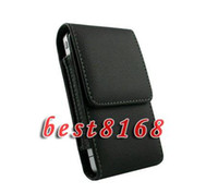 Leather belt clip purse - Leather flip Case clip belt pouches holster Beltclip stand holder Purse for iphone S Plus S I4S G S C Hip Skin