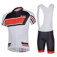 bicycle line jersey - 2016 Line Cycling Jersey Bib Set Short Sleeves With Padded Cycling Jerseys Size XS XL Bike Wear Quick Dry Compressed Bicycle Clothing