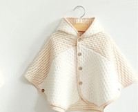 Wholesale Baby shawl baby cloak cape spring and autumn baby clothes years old children s clothing coat cotton