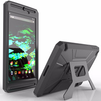 Wholesale Full Cover Anti knock Rugged Hybrid Armor Case for NVIDIA SHIELD Tablet K1 inch REVOLUTION Series Case Tablet Stand Holder